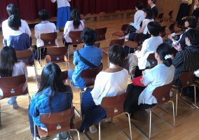 6月8日 学校見学会のお礼と報告