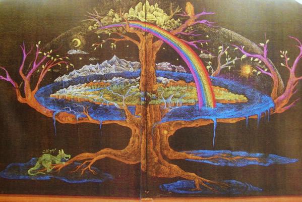 北欧神話黒板画